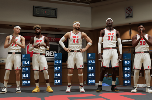 Getting a Rec Game with AI Players (NBA 2K21 Next Gen)
