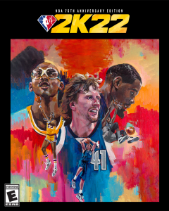NBA 2K22 NBA 75th Anniversary Cover