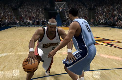 Baron Davis in NBA Live 07