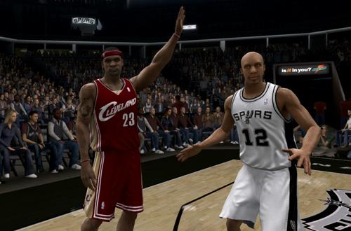 LeBron James & Bruce Bowen (NBA Live 07)