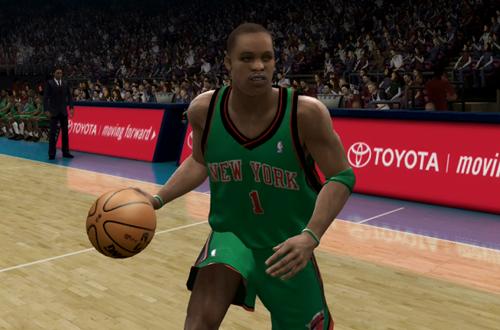 Steve Francis on the Knicks (NBA Live 07)