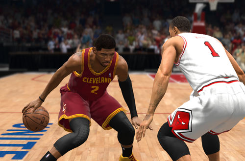 Cover Player Kyrie Irving in NBA Live 14