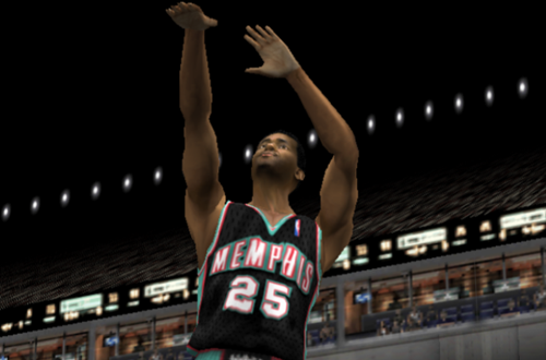 Nick Anderson on the Grizzlies (NBA Live 2002)