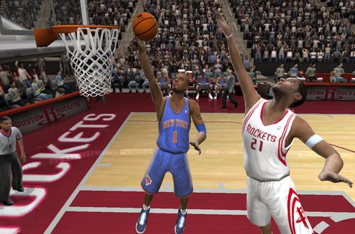 Anfernee Hardaway on the Knicks (NBA Live 2005)