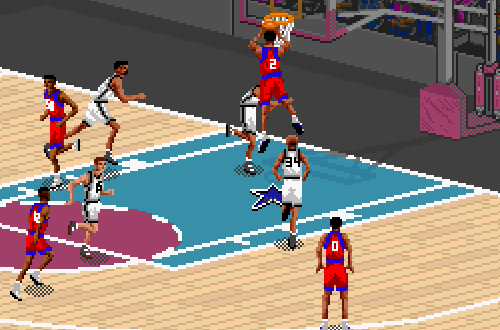 Moses Malone on the 76ers (NBA Live 95)