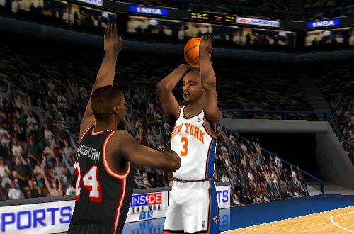 Dennis Scott on the Knicks (NBA Live 99)