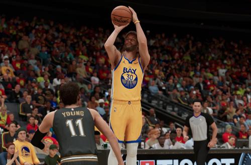Steph Curry in NBA 2K21