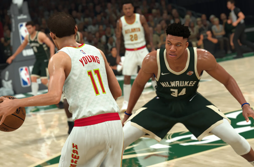 NBA 2K21 Pre-Release Screenshot of Giannis Antetokounmpo