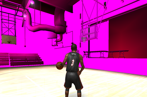 Missing Textures While Modding (NBA Live 06)