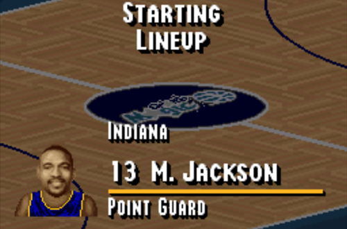 Jackson on the Pacers
