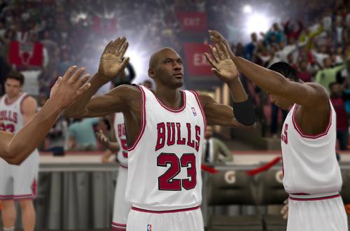 Michael Jordan Introduction in NBA 2K11