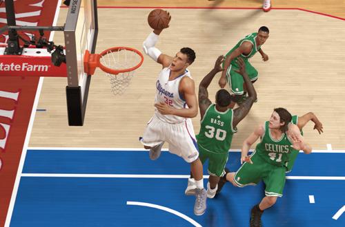 Blake Griffin Dunks in NBA 2K14