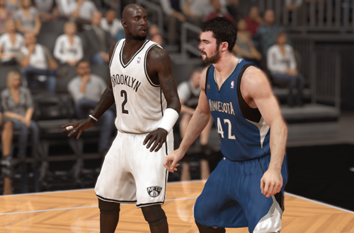 Two Kevins in NBA 2K14