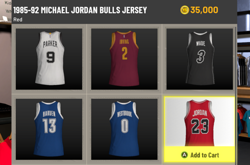 Clothing Prices Are Disproportionate to Income (NBA 2K22 MyCAREER)