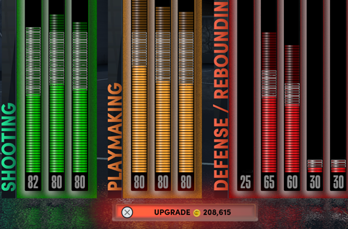 Upgrading from 60 to 85 Overall (NBA 2K22 PS5 MyCAREER)