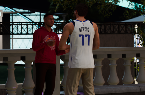 Meeting Che in The City (NBA 2K22)