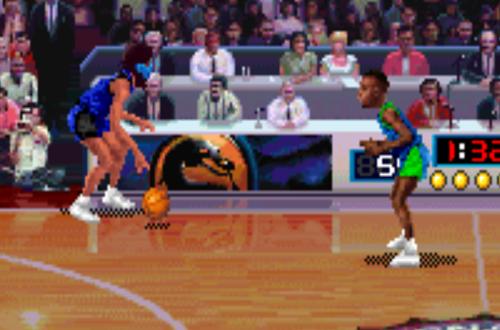 Sub-Zero in NBA Jam Tournament Edition (Arcade)